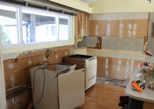 The House Milk Kitchen Project: DEMO! (And Much More) in news events interior design  Category
