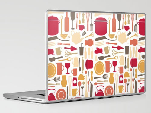 kitchenware-laptop-skin