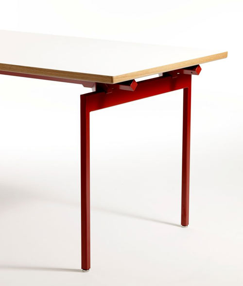 Antenna Desk by Knoll in main home furnishings  Category