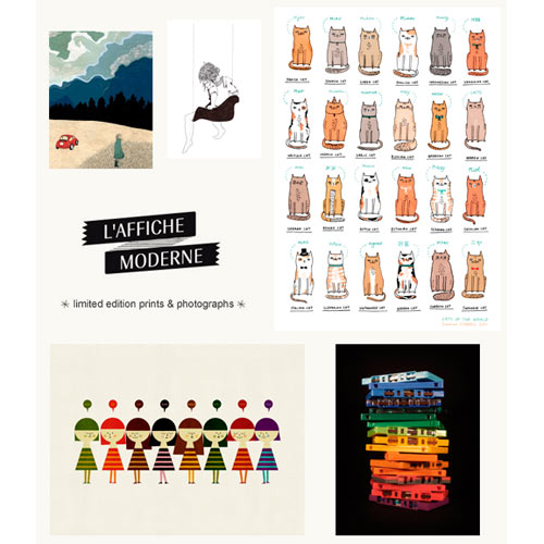 LAffiche Moderne Print Giveaway