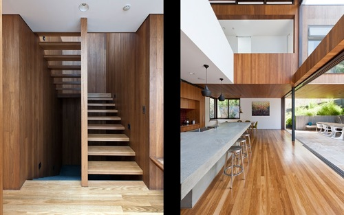 Flipped House by MCK Architecture