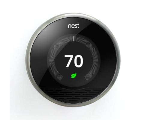 Nest Smart Thermostat in technology interior design  Category