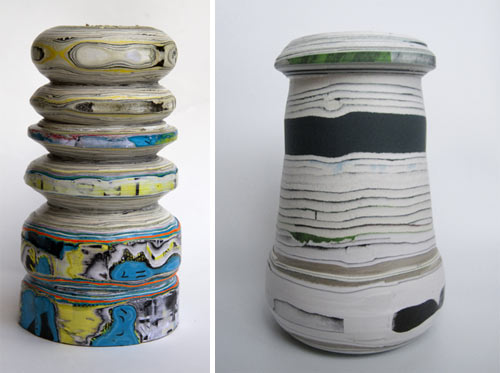 Processed Paper by Pia Wüstenberg in home furnishings  Category