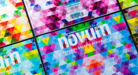Novum Magazine's Foldable Paper Cover