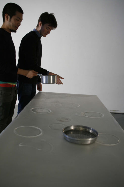 Paraffin Table by Tom Gottelier