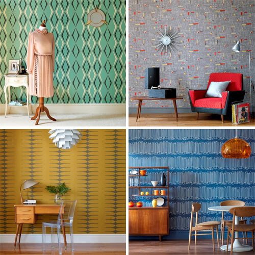 Vintage by Hemingway Design Wallpaper