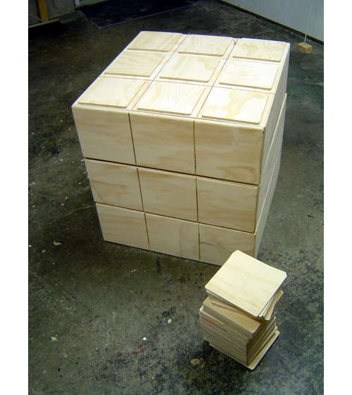 Rubiks Cube Chest of Drawers