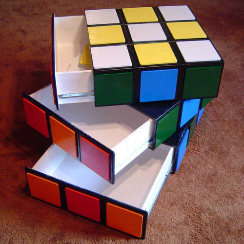 Rubiks Cube Chest of Drawers in main home furnishings  Category