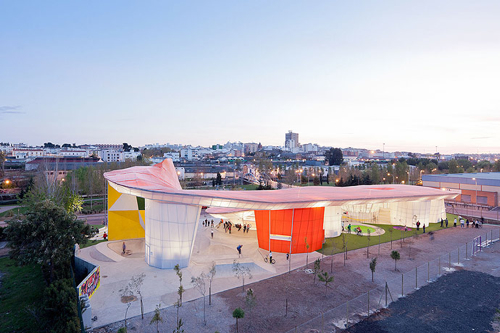 Factoria Joven Skate Park in architecture  Category
