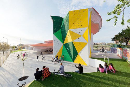 Factoria Joven Skate Park in main architecture  Category