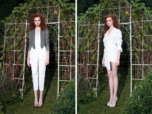 Sylvio Giardinas Spring/Summer 2012 Collection in style fashion main  Category