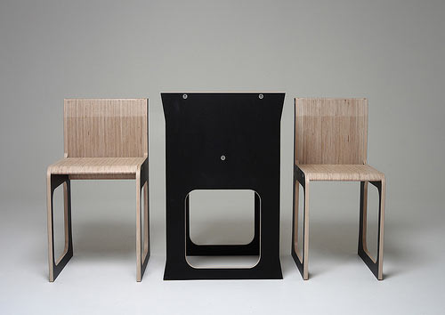 Teanest Table and Chairs by Jody Leach in main home furnishings  Category