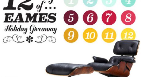 12 Days of Eames Holiday Giveaway