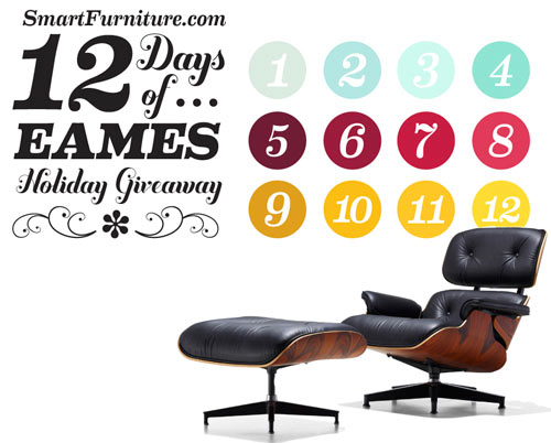 12 Days of Eames Holiday Giveaway in sponsor news events  Category