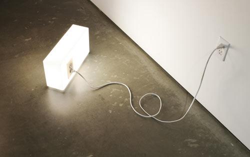 American Standards Lamp by Peter Bristol
