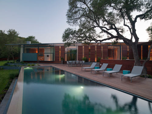 Cascading Creek House By Bercy Chen Studio