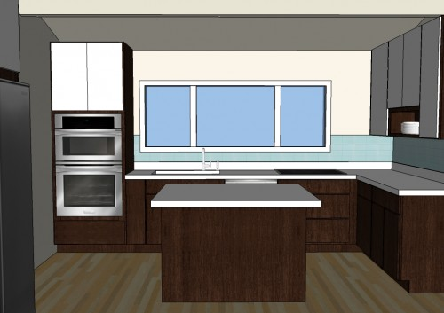 The House Milk Kitchen Project: The Plan in main interior design  Category