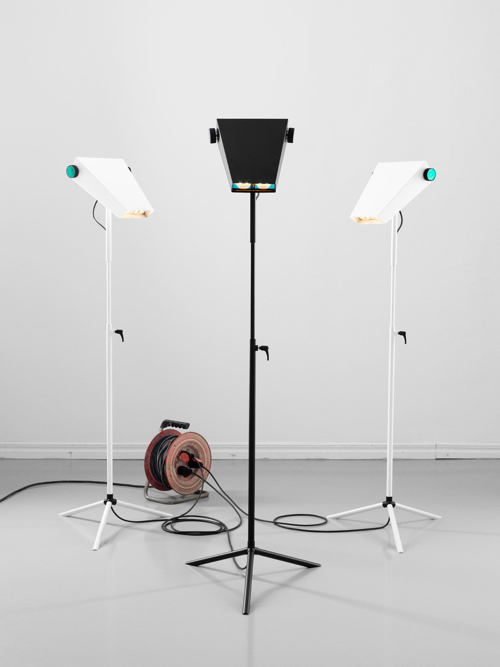 Droid Lamp by Jangir Maddadi Design Bureau