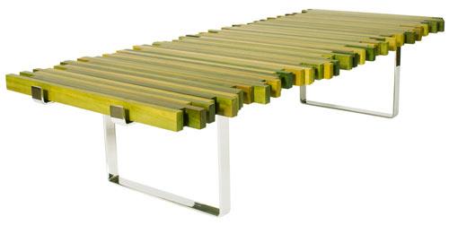 Дизайнерска маса за кафе с камъни Сваровски