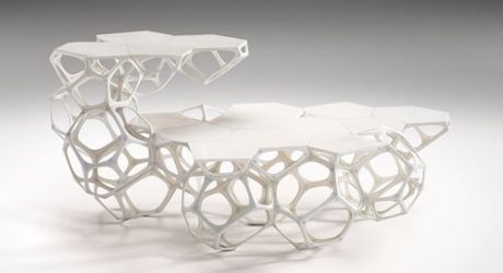 Polyhedra Modular Coffee Table by Haldane Martin