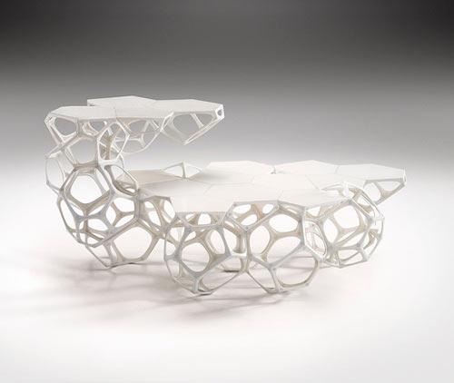 Polyhedra Modular Coffee Table by Haldane Martin