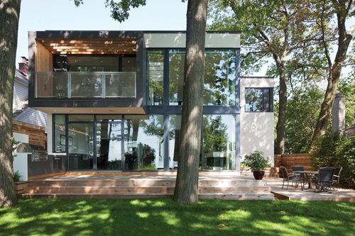 House on the Bluffs by Taylor Smyth Architects in architecture  Category