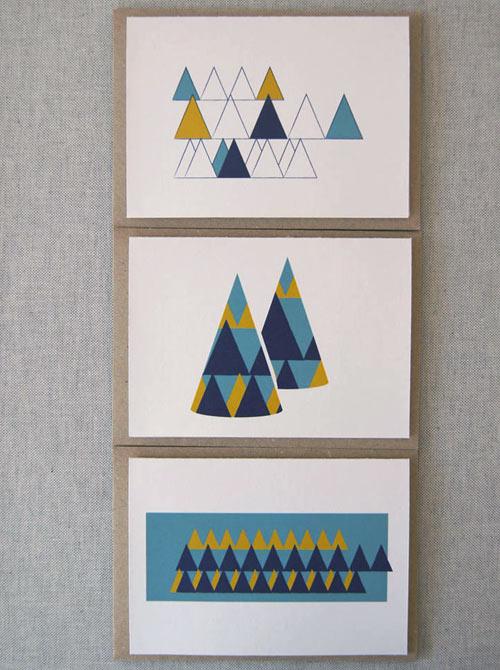 christmas cards by karte design fabrik design milk - Modern Christmas Cards