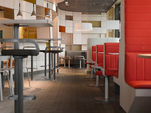 McDonald's by Patrick Norguet