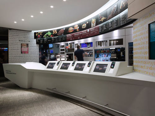 McDonalds by Patrick Norguet in news events interior design  Category