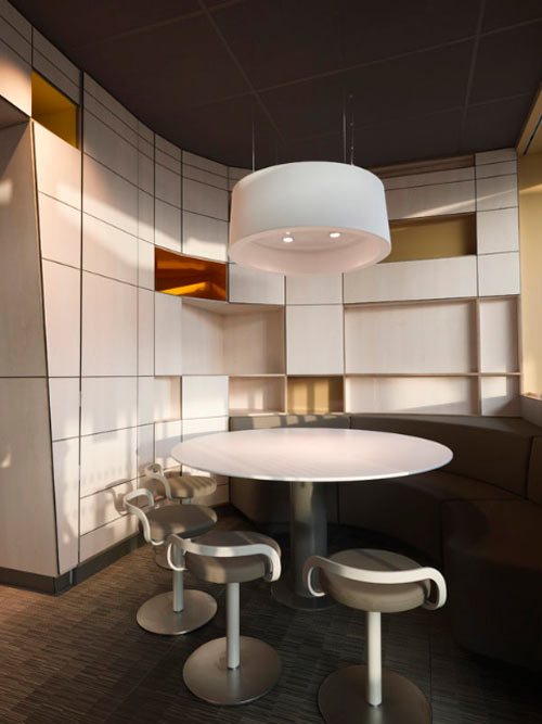 McDonalds by Patrick Norguet in main interior design  Category