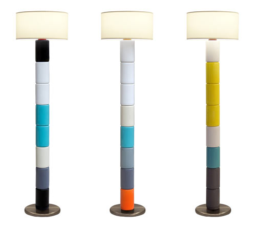 Tinga Floor Lamp by Tahir Mahmood