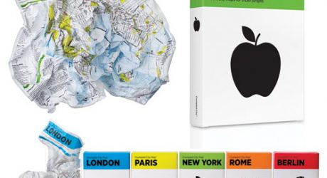Crumpled City Maps Giveaway from Brooklyn5and10