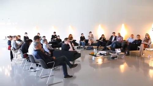 """Discussing """"Good Design"""" at Foscarini"""