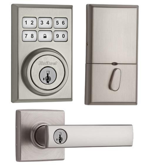 kwikset front door handleKwikset SmartCode Locks  Design Milk