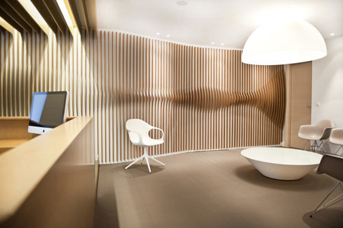 ORL Clinic by Mal Vi Architects in main interior design architecture  Category