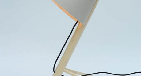 Pine Lamp by MadeByWho