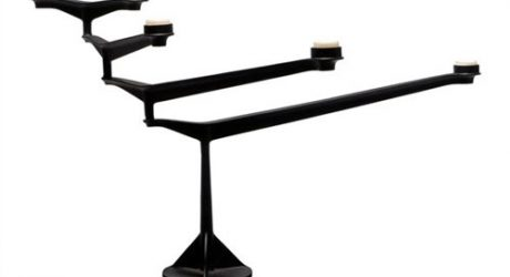 Spin Table Candelabra
