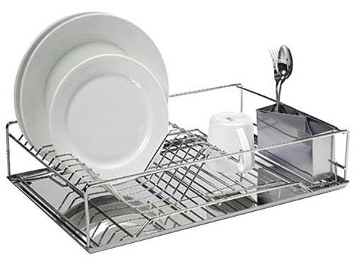 Steel Dish Drainer ...  sc 1 st  Design Milk & Modern Dish Racks - Design Milk