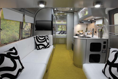 Airstream Sterling Concept Trailer Design Milk Cool Airstream Interior Design