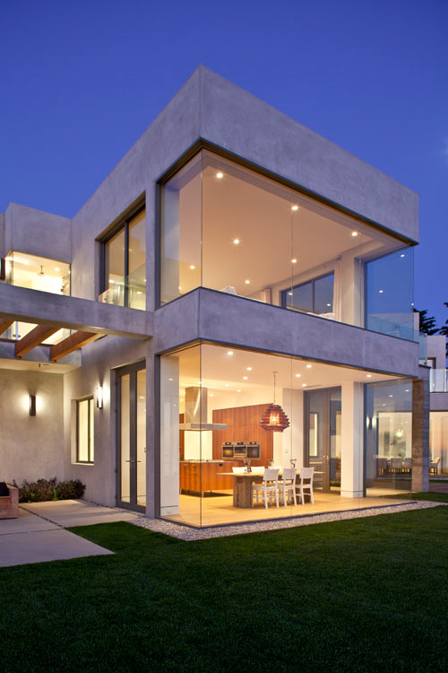 Birdview residence by douglas w burdge design milk for Modern house glass designs