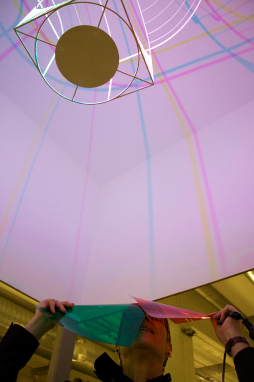 CMYK Lamp by Dennis Parren in technology main home furnishings art  Category