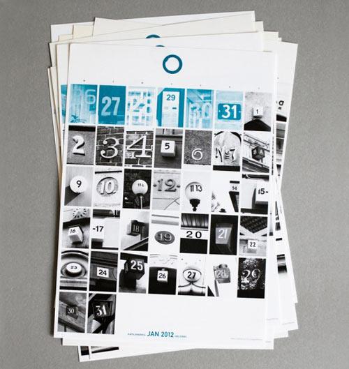 Calendar Design Modern : Modern calendars design milk