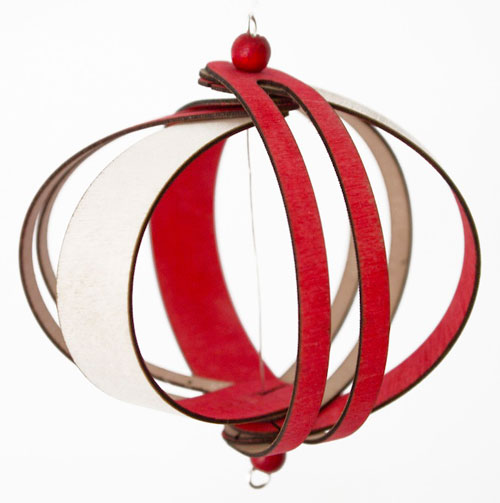 Fleet Ribbon Ornament