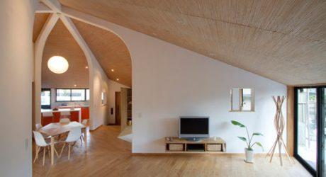 Pentagonal House by Kazuya Morita Architecture Studio