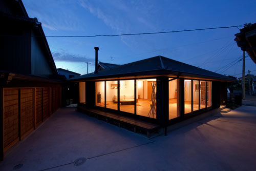 Pentagonal House by Kazuya Morita Architecture Studio in main architecture  Category
