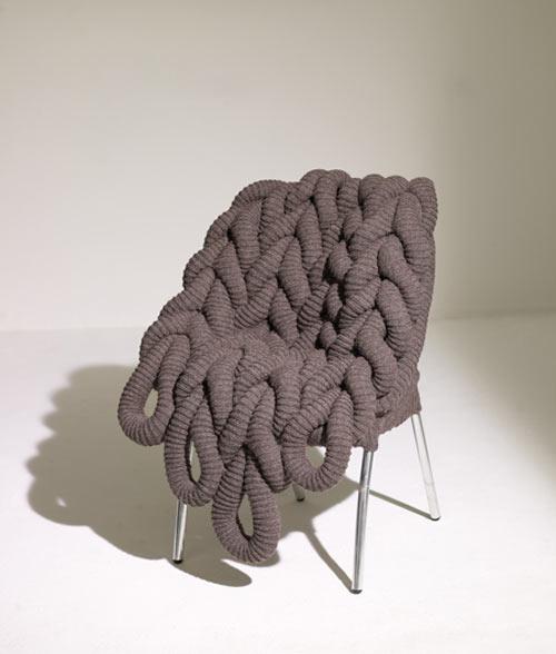 В'язане крісло Claire-Anne O'Brien