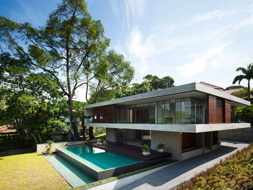 JKC1 House by ONG&ONG in main architecture  Category