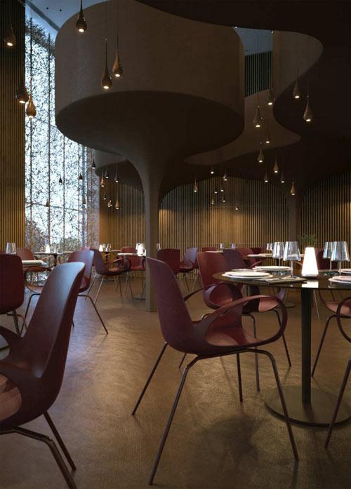 Twister Restaurant by Sergey Makhno & Vasiliy Butenko in main interior design  Category