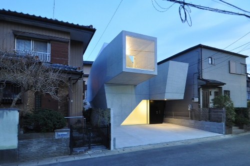 Skim Milk: House in Abiko by fuse atelier in architecture  Category