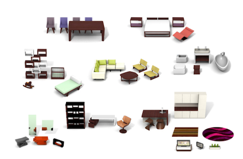 contemporary dollhouse furniture. Exellent Contemporary Brinca Dada Dollhouse Furniture  Throughout Contemporary N